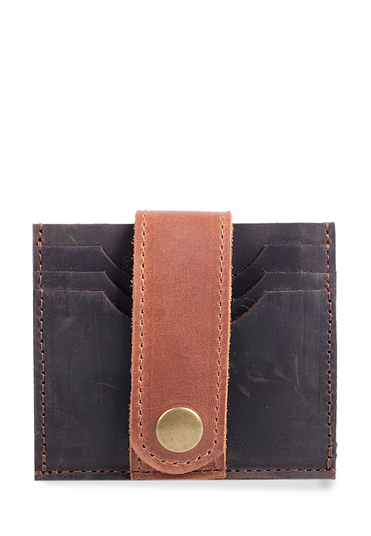 Functional Mini Leather Wallet