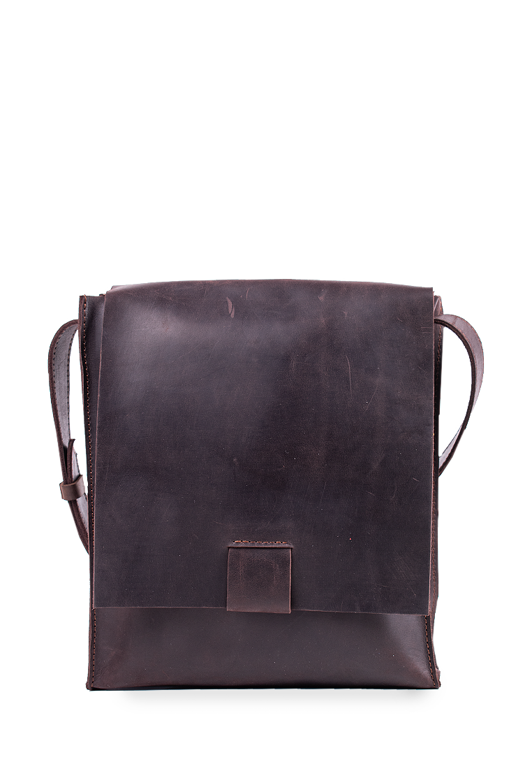 Practical Shoulder Leather Bag For Men