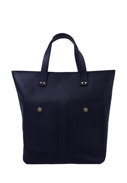 Elegant Women's Leather Tote Bag