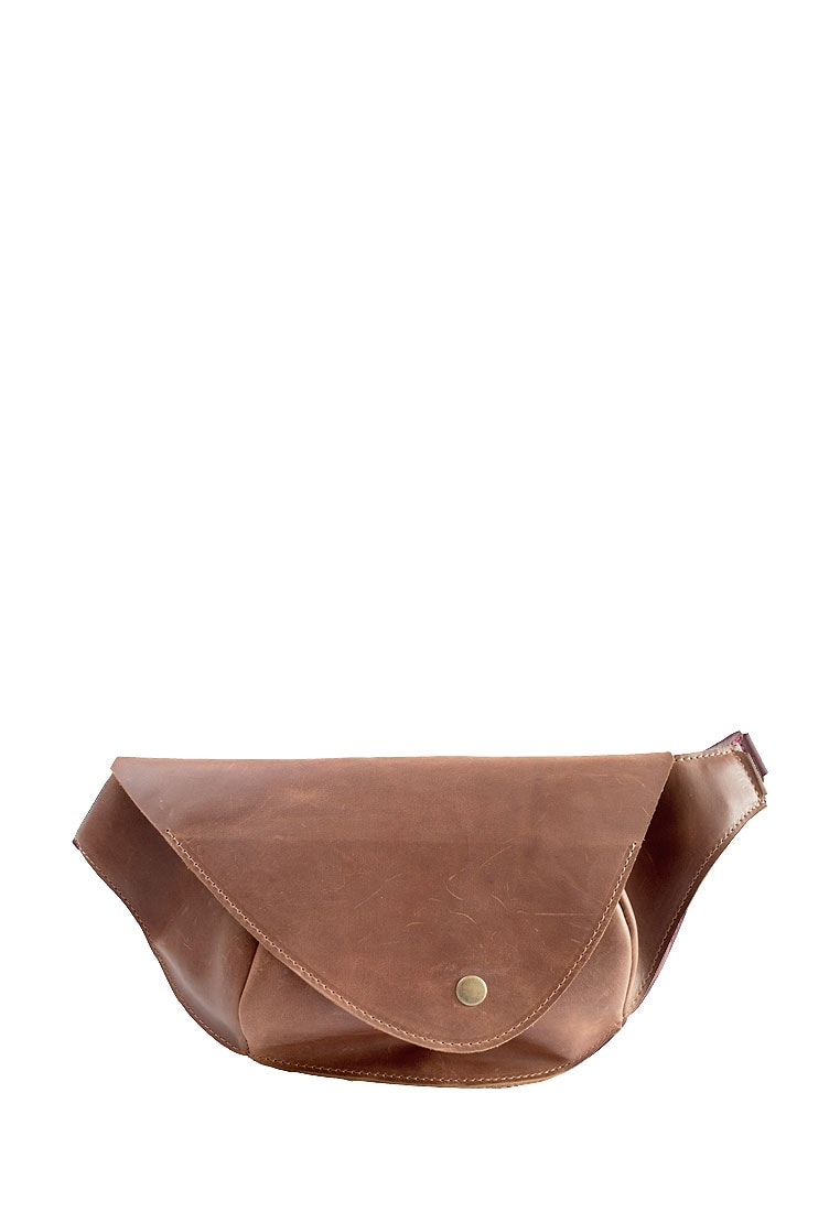 Natural Leather Waist Bag For Women