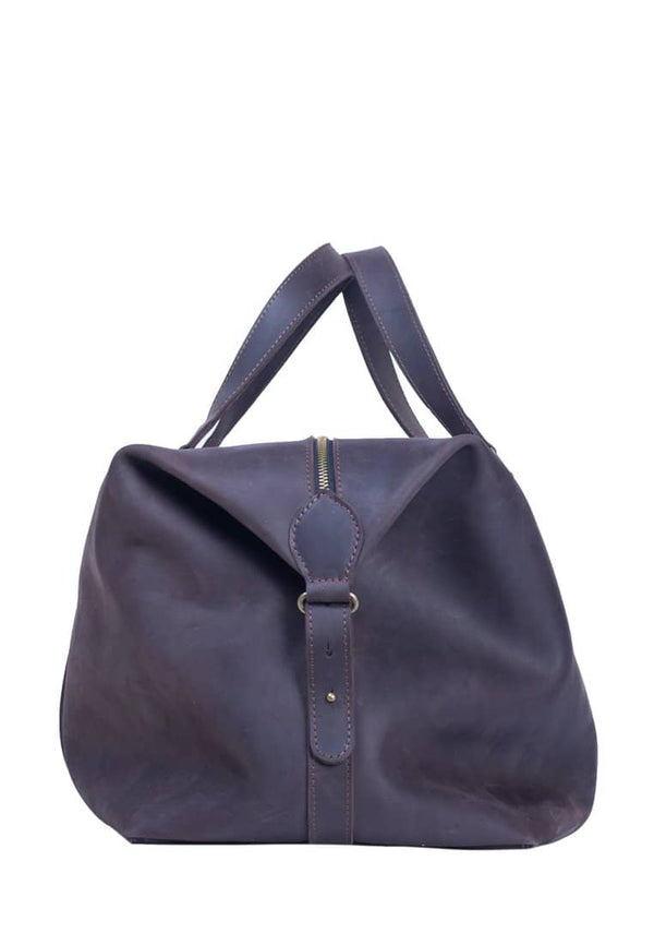 Traveler Natural Leather Large Bag