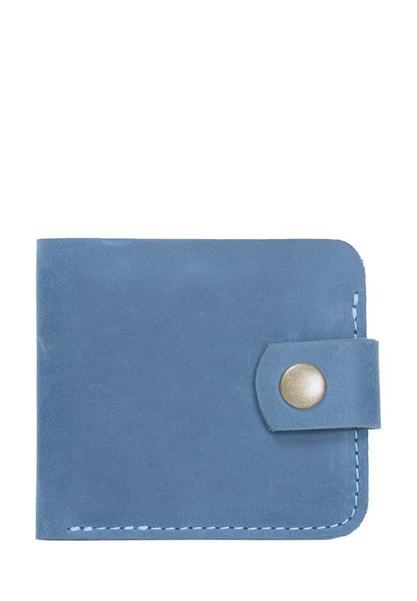 Small Leather Wallet In Minimalist Design