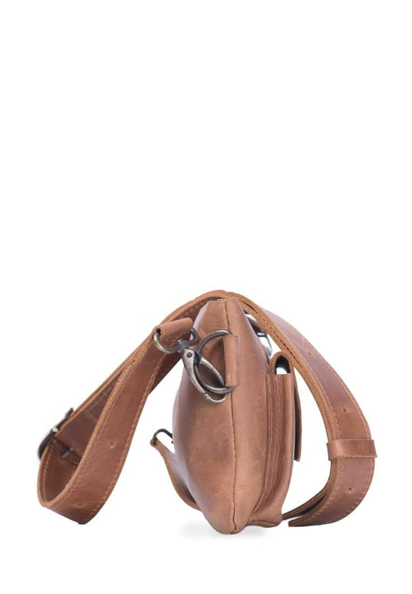 Leather Waist Bag For Everyday