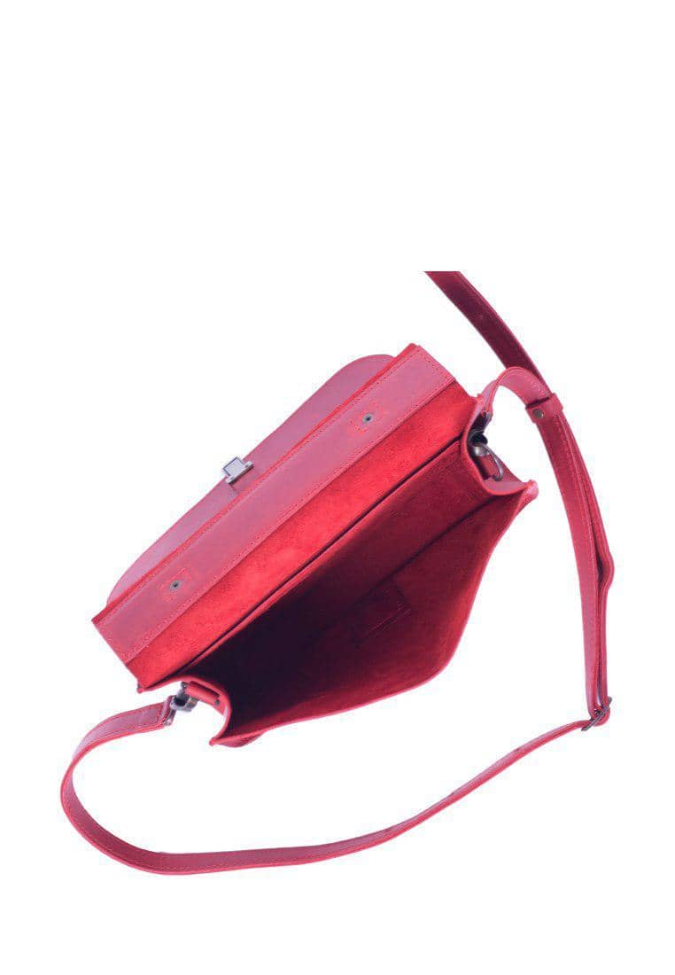 Women's Shoulder Purse Made Of Genuine Leather