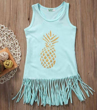 Load image into Gallery viewer, Pineapple Toddler Dress