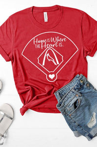 Home Is Where The Heart Is Cards Tee