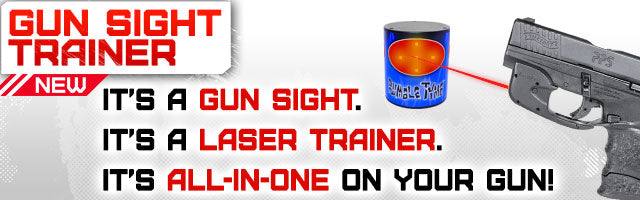 gun sight laser trainer