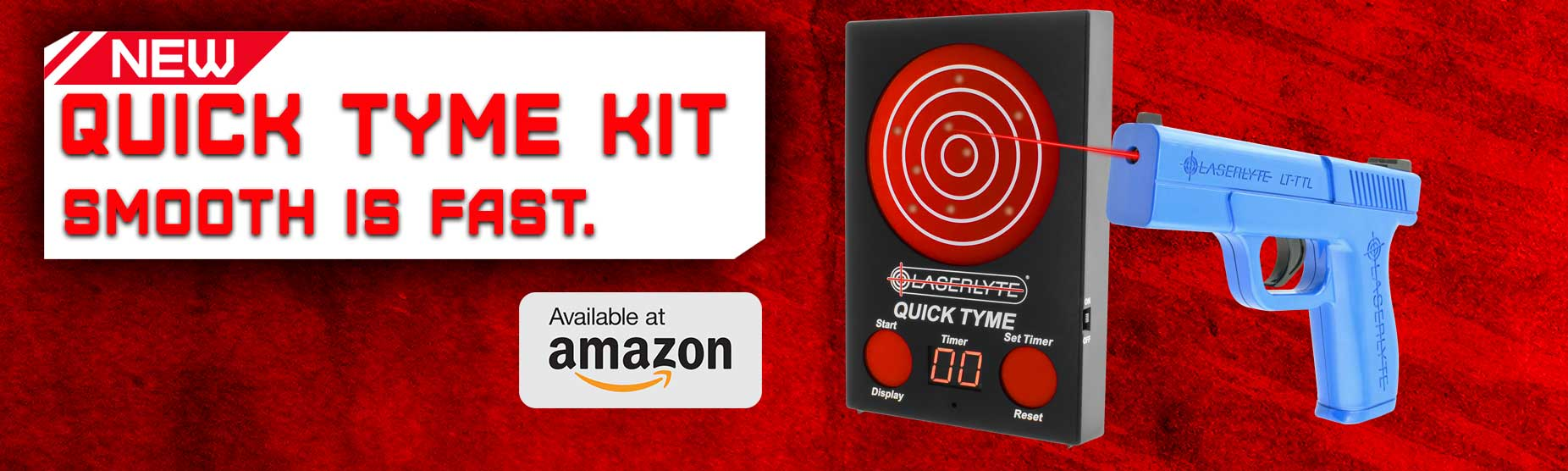 laser quick tyme training kit amazon