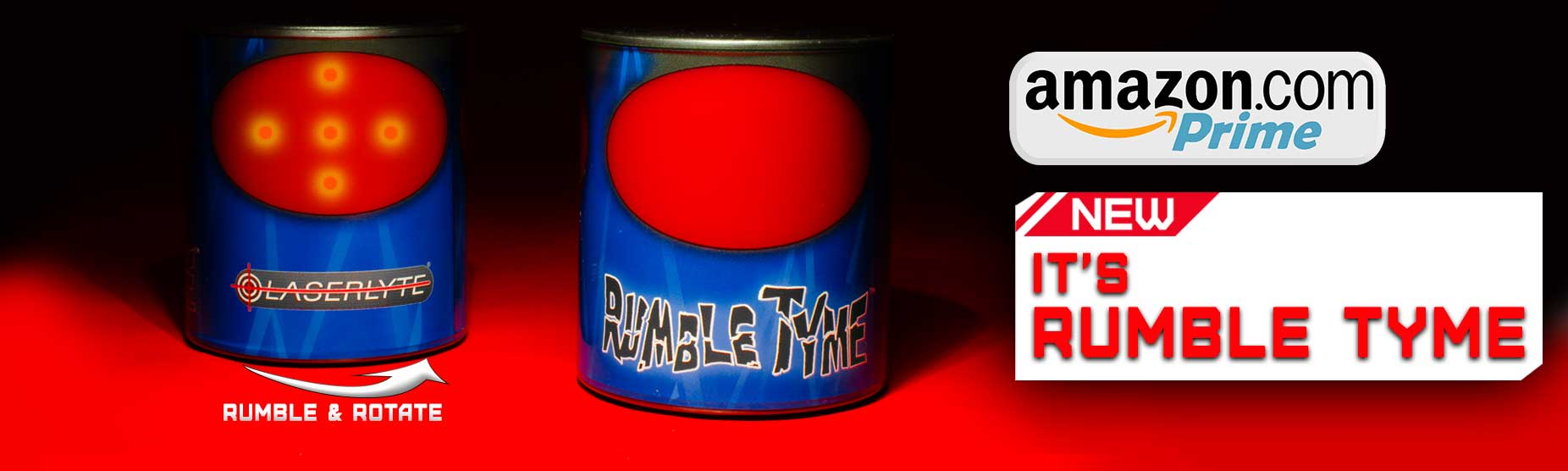 Laser Rumble Tyme Plinking Cans Training