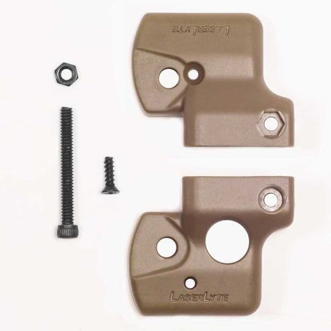 Gun Sight Trainer Body Tan Universal Rail Sub-Compact