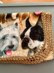Dog Breeds with Tan Edge Blanket