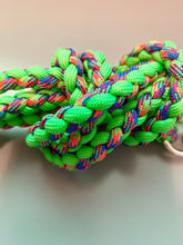 Load image into Gallery viewer, Slim Jim Blue/Orange/Green/Purple Leash