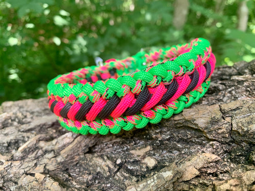 Watermelon Bootlace Collar 14