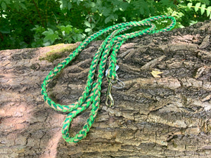 6ft Green and Gold Adventure lead