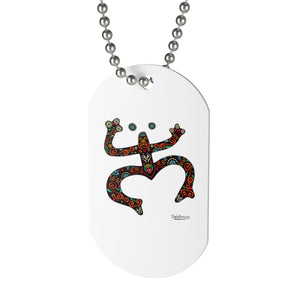 Multicolored Coqui Dog Tag