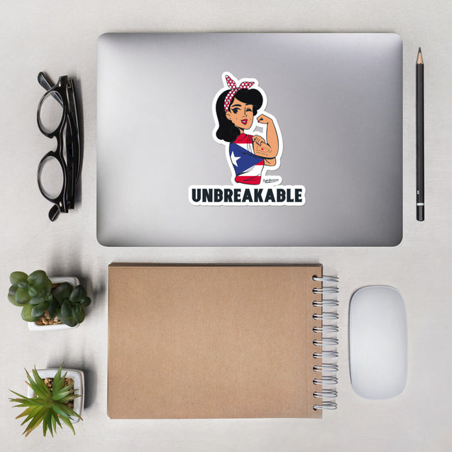 PR Unbreakable stickers