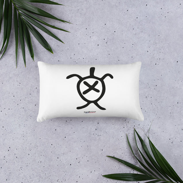 Turtle Taino Symbol Pillow