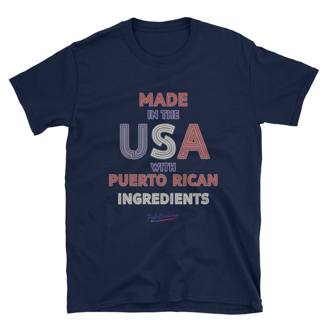Made in USA with PR Ingredients Unisex Tee