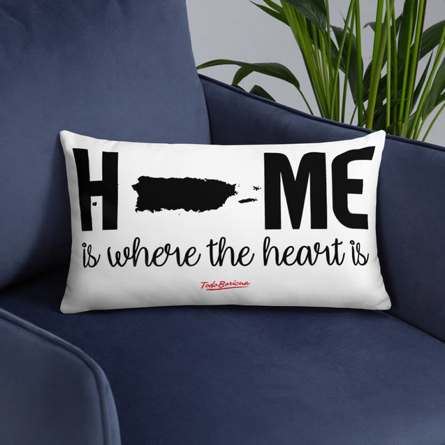 Home is Where The Heart Is PR Pillow