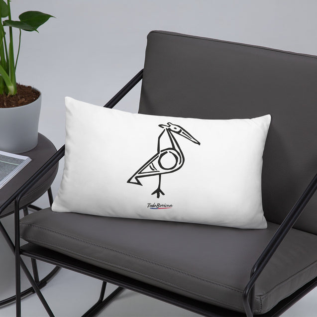 Bird Taino Symbol Pillow