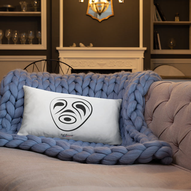 Mask Taino Symbol Pillow