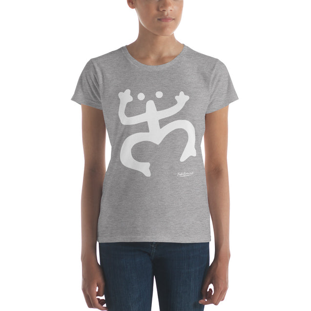 Large White Coqui Premium Women's Tee