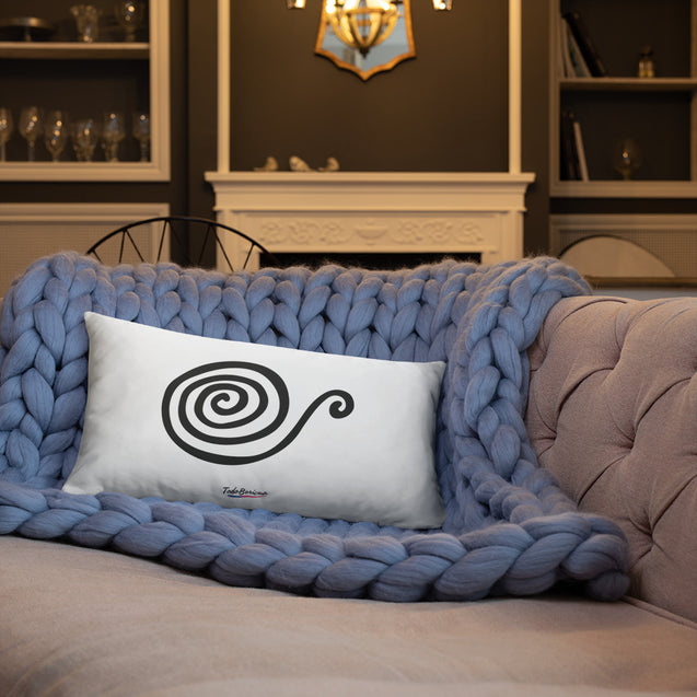 Snail Taino Symbol Pillow