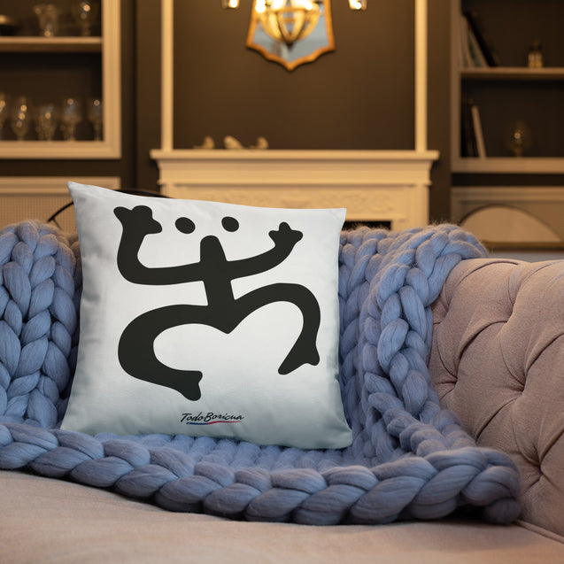 Coqui Taino Symbol Pillow