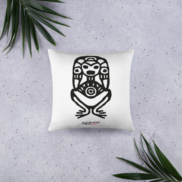 Woman Taino Symbol Pillow
