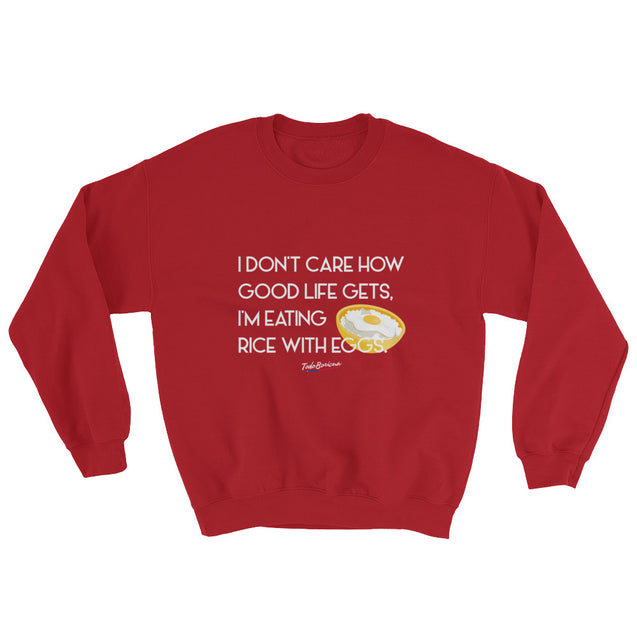 Rice with Eggs Unisex Sweatshirt