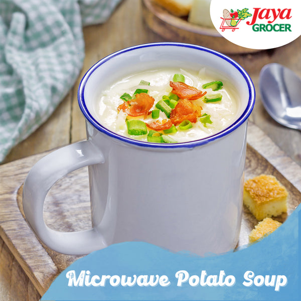 Microwave Potato Soup
