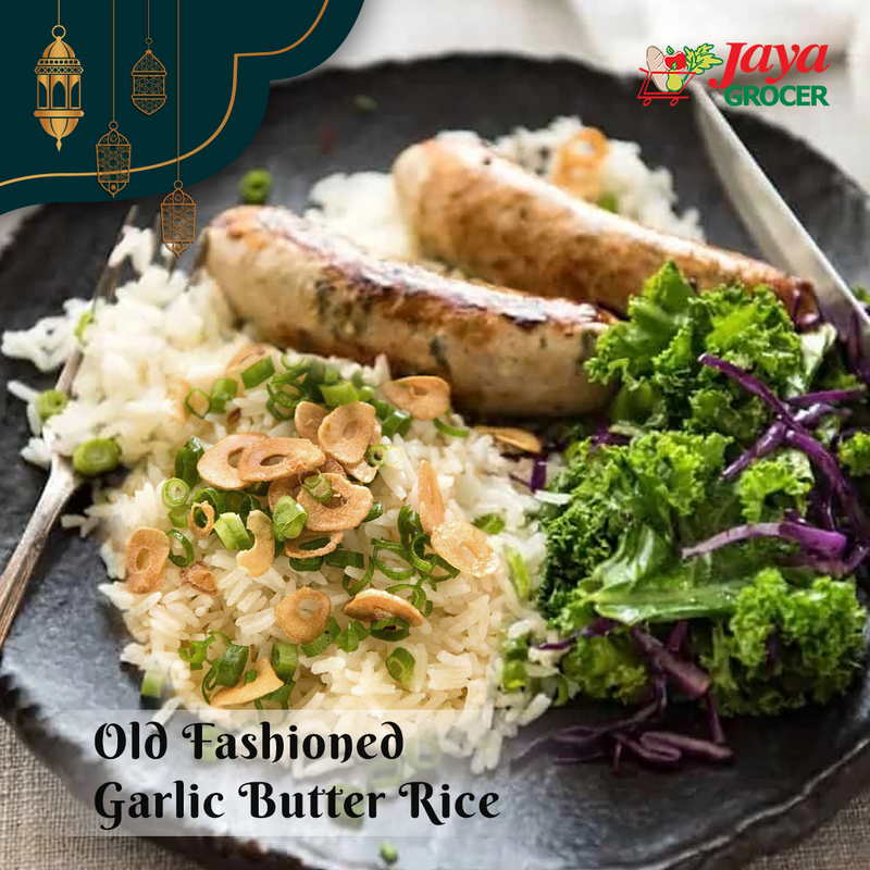 Old Fashioned Garlic Butter Rice
