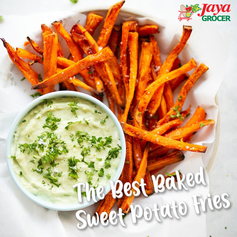 The Best Baked Sweet Potato Fries