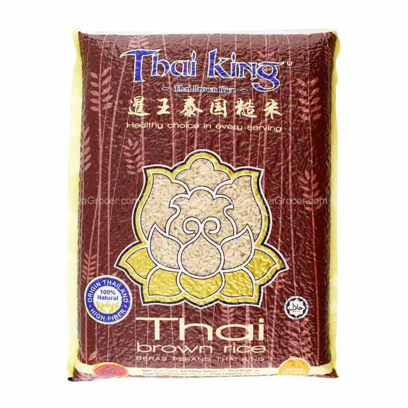 Thai King Thai Brown Rice 2kg