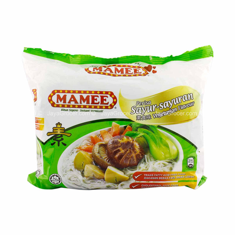 Mamee Vegetarian Flavor Instant Vermicelli 55g x 5