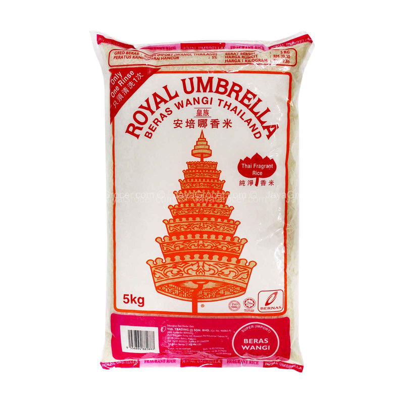 Royal Umbrella Thailand Fragrant Rice 5kg