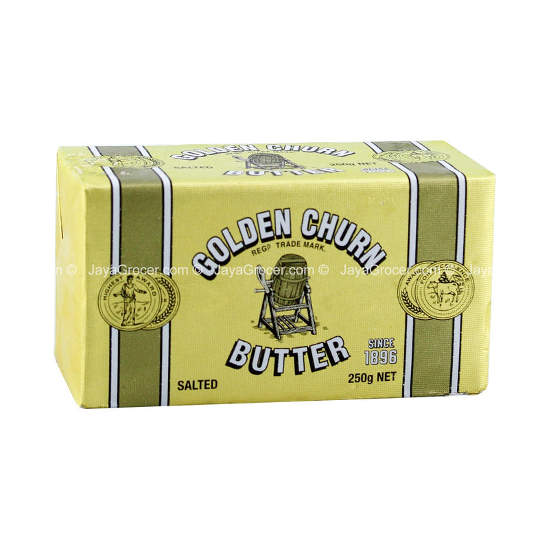 Golden Churn Creamery Wrapped Salted Butter 250g