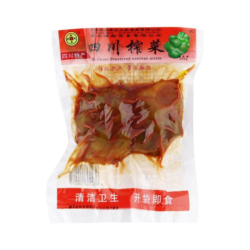 Si Chuan Preserved Szechuan Pickle 250g