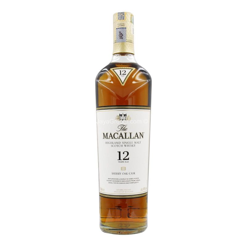 The Macallan Sherry Oak Whisky 700ml