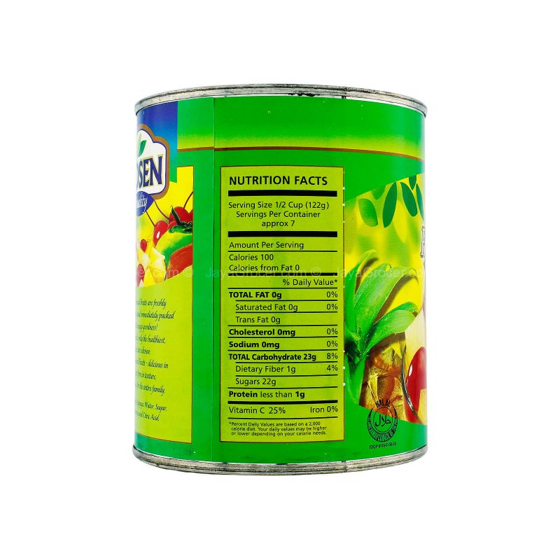 Hosen Fruit Cocktail Fiesta in Syrup 836g