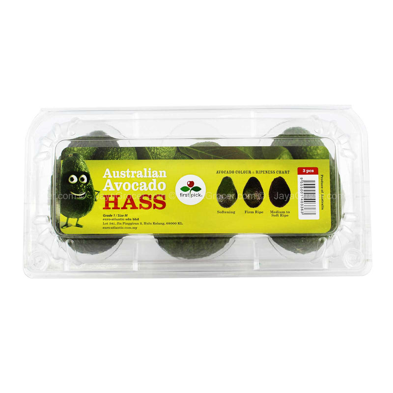 Hass Avocado 3pcs/pack