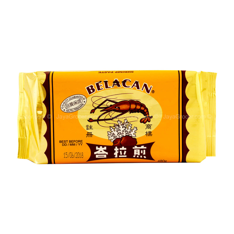 Prawn and Coral Brand Belacan (Fermented Shrimp Paste) 480g