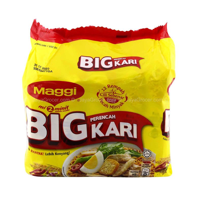 Maggi Big Curry Instant Noodles 101g x 5packs