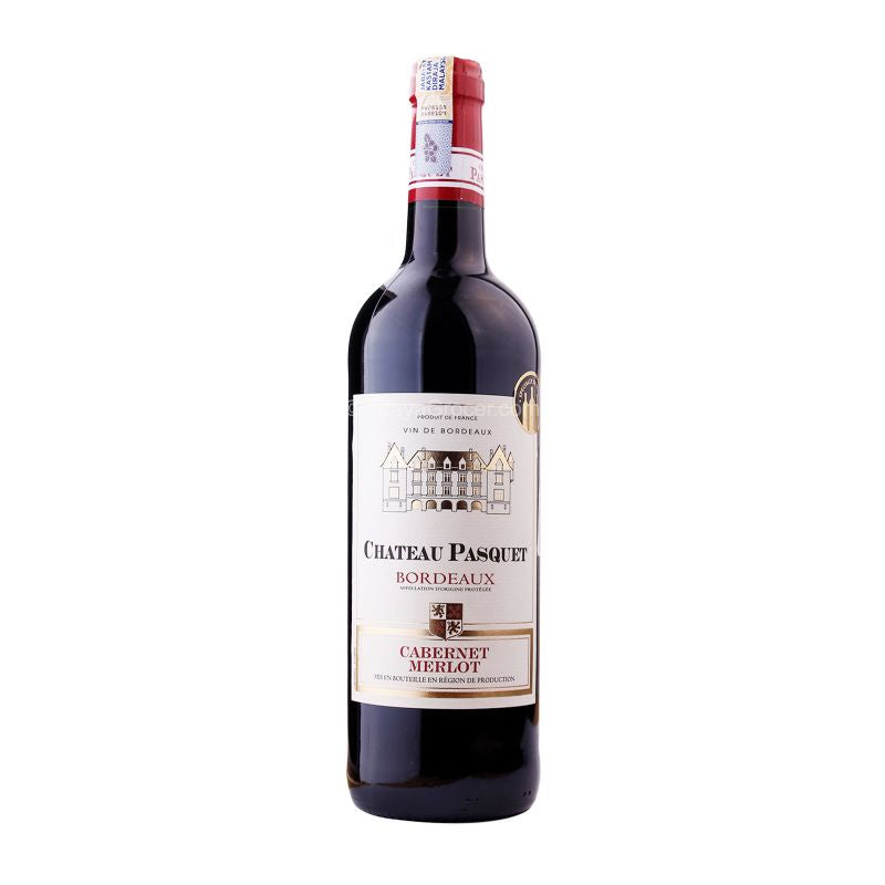 Chateau Pasquet Bordeaux Cabernet Merlot Wine 750ml