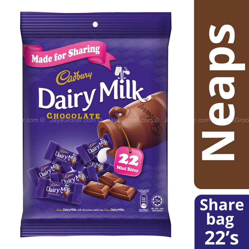 Cadbury Dairy Milk Mini Bites Chocolates 100g