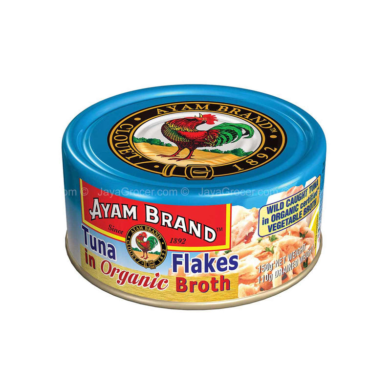 Ayam Brand Tuna Flakes in Organic Broth 150g