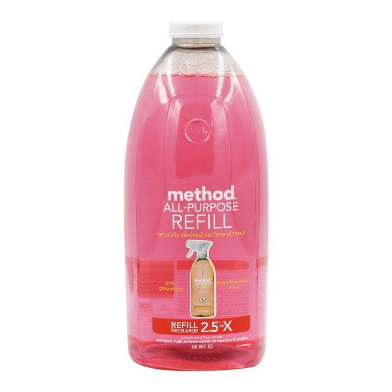 Method All-Purpose Pink Grapefruit Surface Cleaner Refill 2L