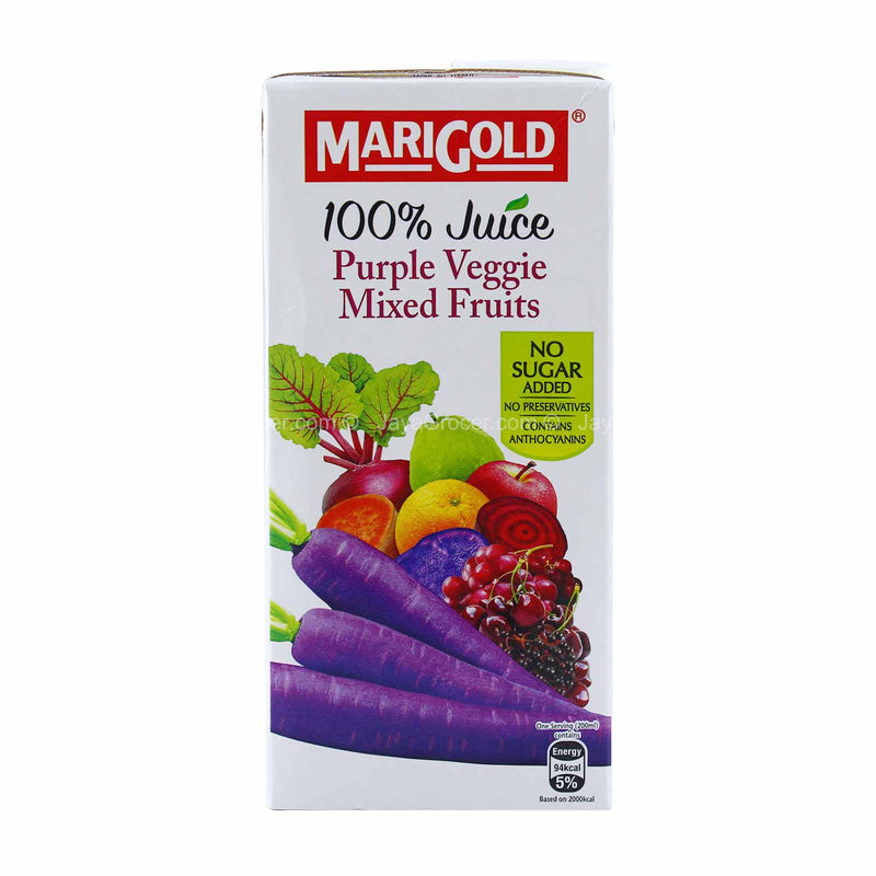 Marigold 100% Juice Purple Veggie Mixed Fruits 1L