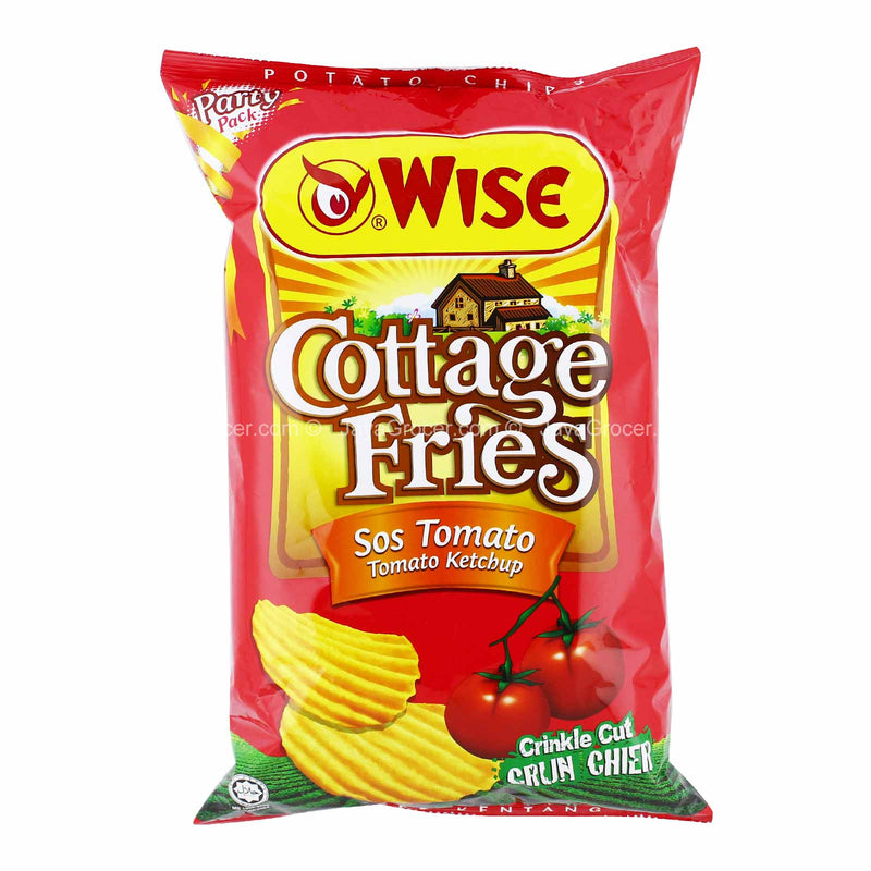 Wise Cottage Fries Tomato Potato Chips 160g