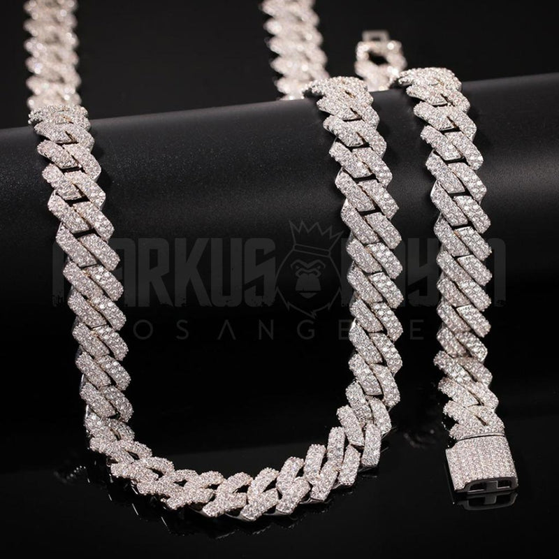 13mm New Lock Prong Cuban Chain